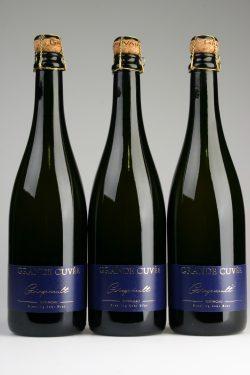 3 Flaschen Grapevault Grande Cuvée Riesling Sekt Brut